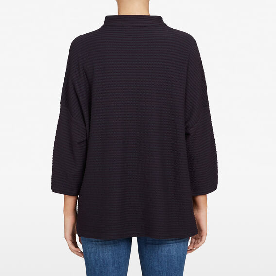 TEXTURED SLOUCHY SWEAT  UTILITY BLUE  hi-res