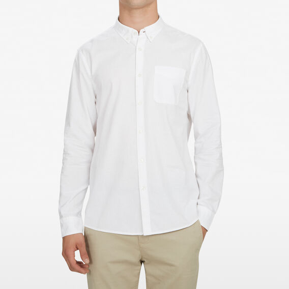 OXFORD CLASSIC FIT SHIRT  WHITE  hi-res