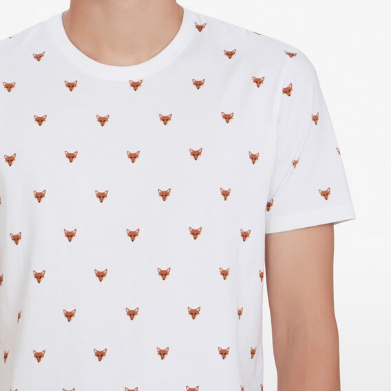 FOX HEAD T-SHIRT  WHITE  hi-res