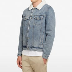 DENIM SHERPA JACKET  MID AUTHENTIC  hi-res