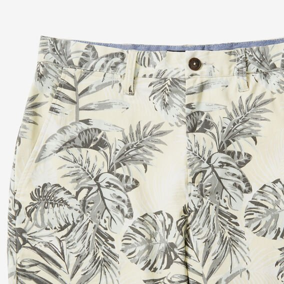 ALOHA PALMS SHORT  ECRU  hi-res