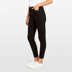 HIGH RISE SKINNY JEAN  BLACK  hi-res