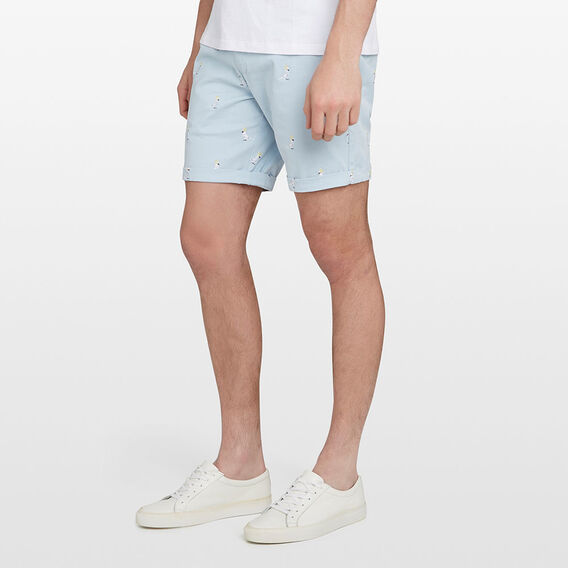 COCKATOO CHINO SHORT  PALE BLUE  hi-res