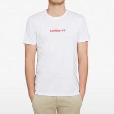 SUMMER 92 T-SHIRT  WHITE  hi-res