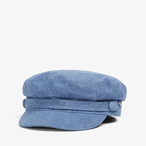 DENIM PAPERBOY CAP  CHAMBRAY  hi-res