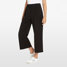 ANGELINE DRAPE PANT  BLACK  hi-res