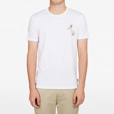 PELICAN CHEST T-SHIRT  WHITE  hi-res