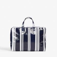 STRIPED BEACH BAG  NOCTURNAL/WHITE  hi-res