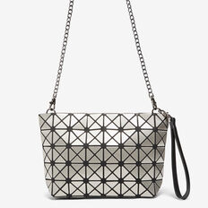 GEO CLUTCH  CHARCOAL  hi-res