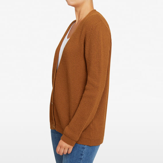 WILD WEST CARDIGAN  DARK TAN  hi-res