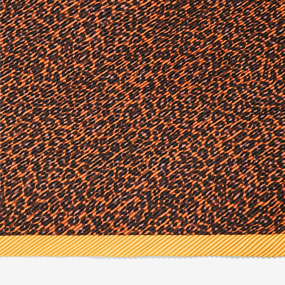ANIMAL PLEATED SCARF  MULTI  hi-res