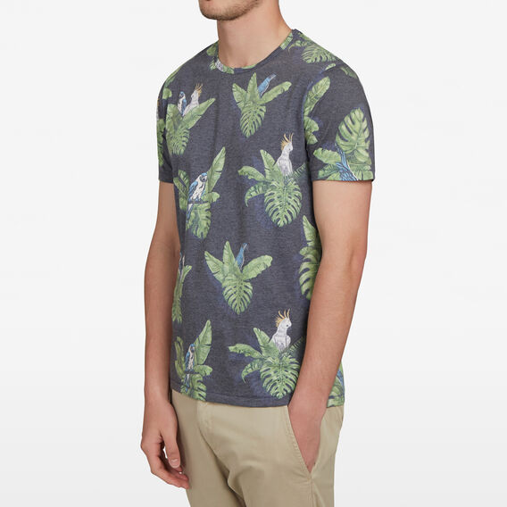TROPICAL PARROT T-SHIRT  MULTI  hi-res