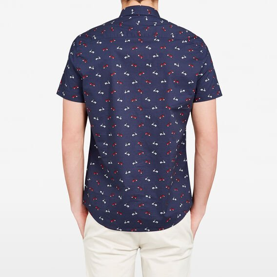 COASTAL RIDE SLIM FIT SHIRT  MARINE BLUE  hi-res