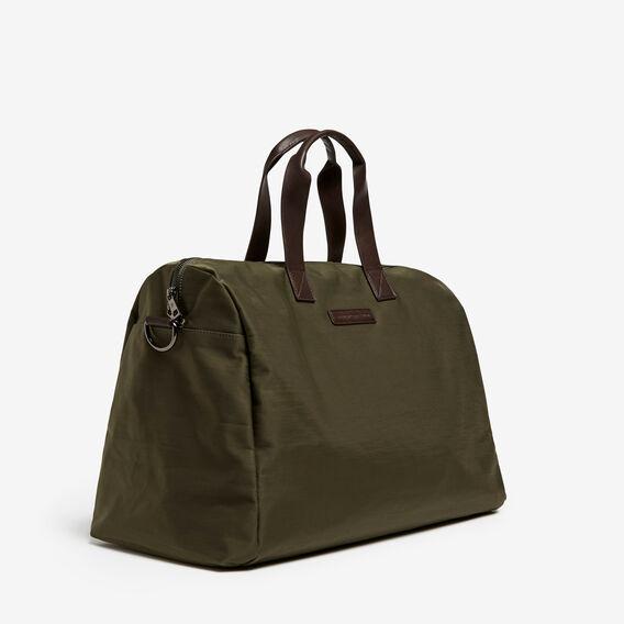 NYLON DUFFLE BAG  PINE GREEN  hi-res