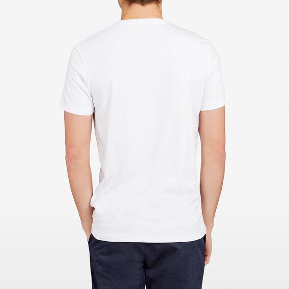 POSITANO CREW NECK T-SHIRT  WHITE  hi-res