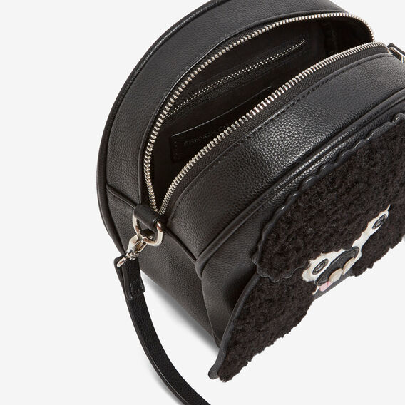 LUCKY POODLE BAG  BLACK/MULTI  hi-res