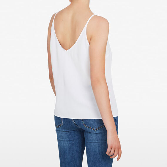 CLASSIC WOVEN CAMI  SUMMER WHITE  hi-res