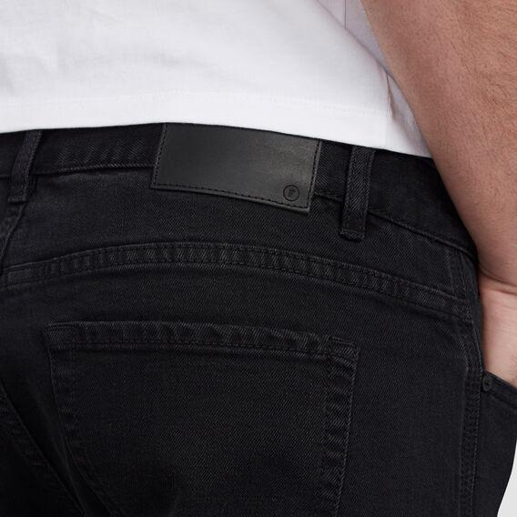 VINTAGE BLACK DENIM SHORT  VINTAGE BLACK  hi-res