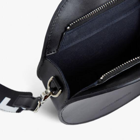 ROUND FCUK BAG  BLACK  hi-res