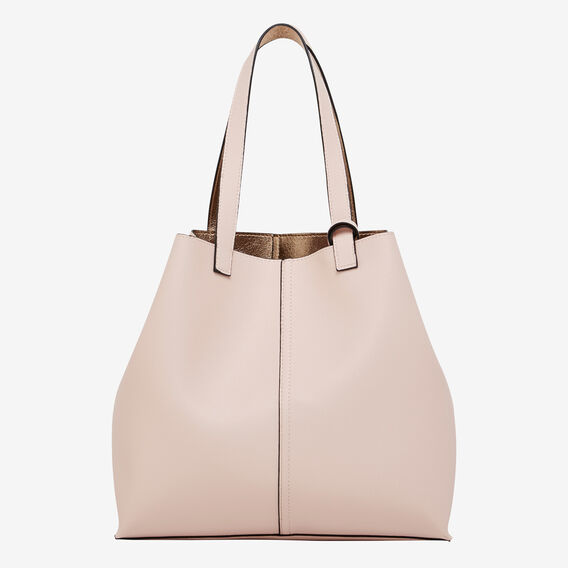 REVERSIBLE TOTE  PINK/ROSE GOLD  hi-res