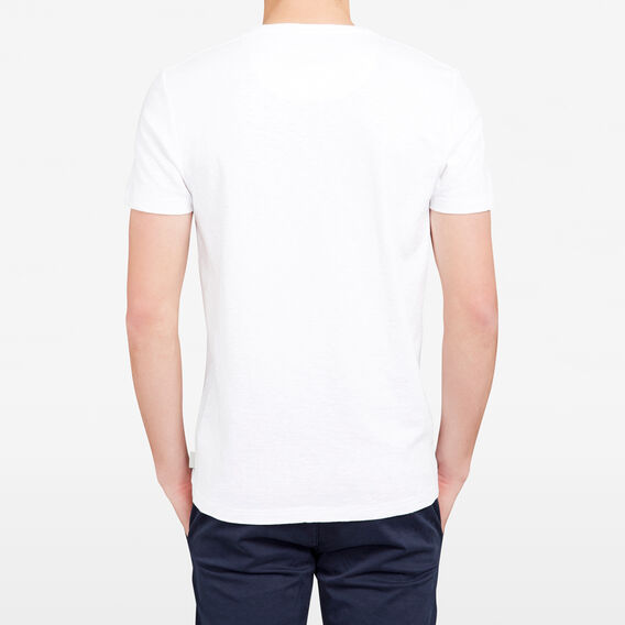 DEAD CALM CREW NECK T-SHIRT  WHITE  hi-res