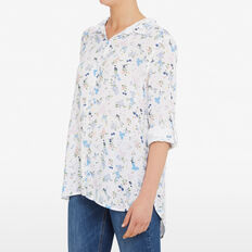 DITSY BLOOM SHIRT  SUMMER WHITE/MULTI  hi-res