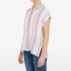 SUMMER STRIPE SHIRT  MULTI  hi-res