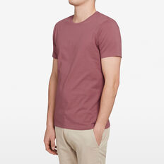 CLASSIC CREW NECK T-SHIRT  BERRY  hi-res