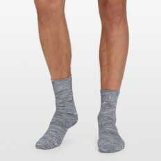 CHUNKY TEXTURED 1PK SOCKS  NAVY  hi-res