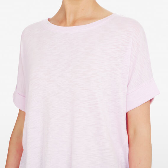 RELAXED EVERYDAY TEE  LAVENDER  hi-res