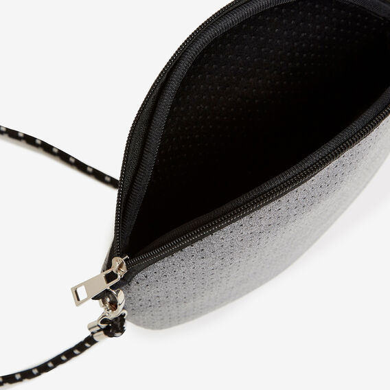 NEOPRENE ROUND BAG  GREY MARLE  hi-res