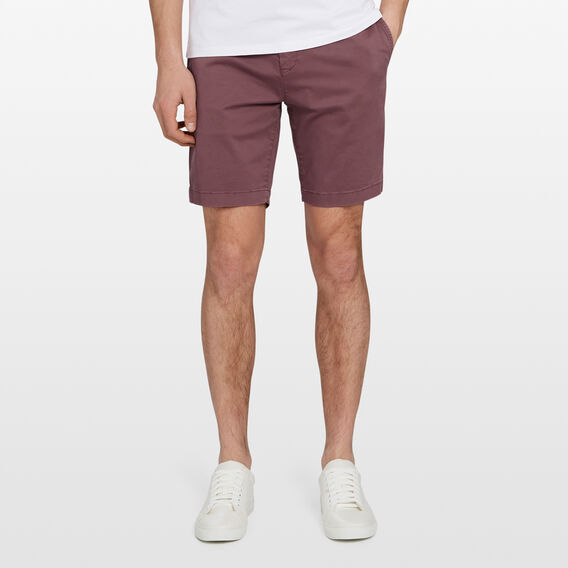 CHARLIE STRETCH CHINO SHORT  LIGHT BERRY  hi-res
