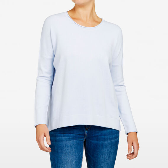 SLOUCHY KNIT  CRYSTAL CLEAR  hi-res