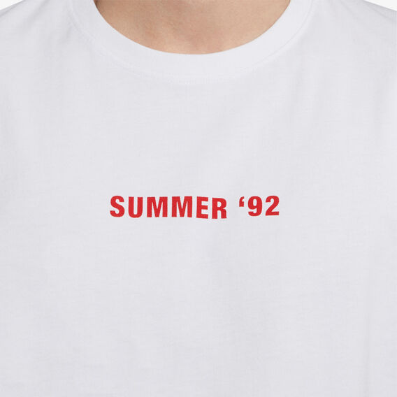 SUMMER 92 T-SHIRT  WHITE  hi-res
