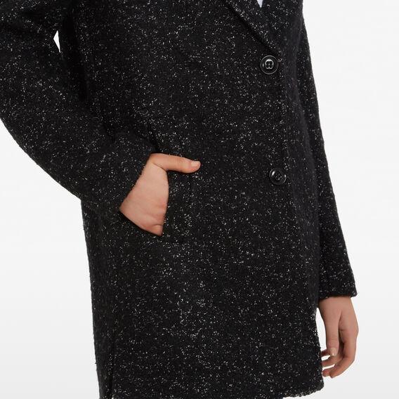 BLACK SPECKLE COAT  BLACK  hi-res