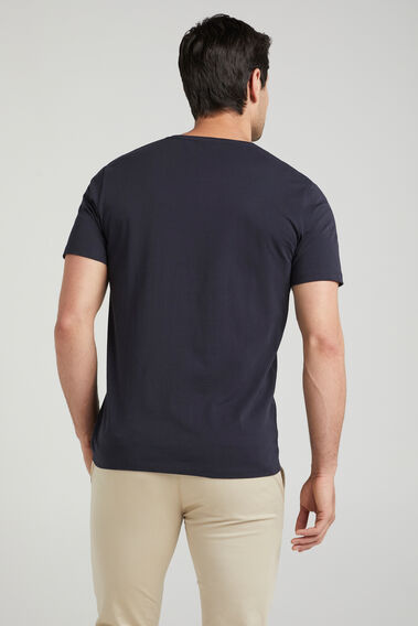 CLASSIC CREW NECK T-SHIRT  NAVY  hi-res