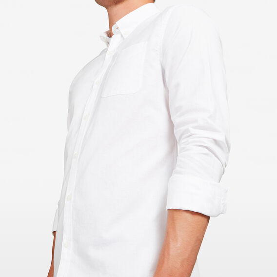 OXFORD CUSTOM FIT SHIRT  WHITE  hi-res