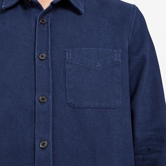WORKER REGULAR SHIRT JACKET  OXFORD BLUE  hi-res