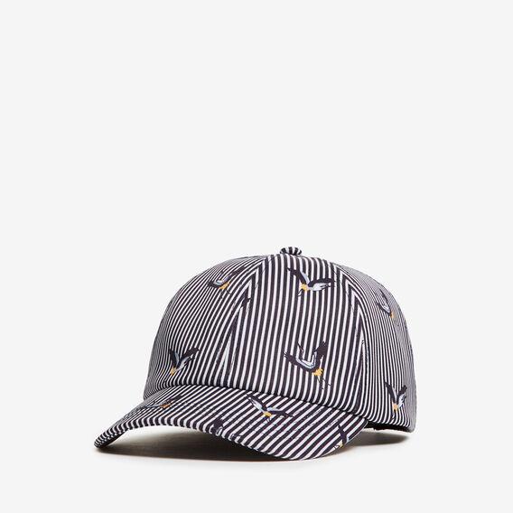 STRIPE BIRD CAP  MULTI  hi-res