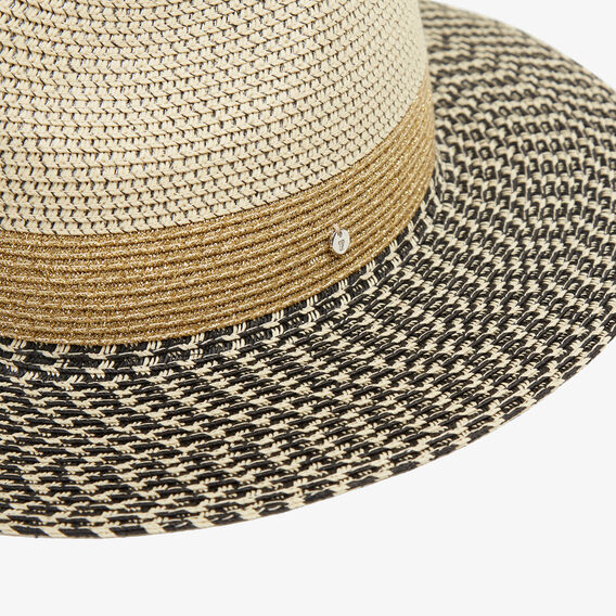TONAL SUMMER FEDORA  MULTI  hi-res