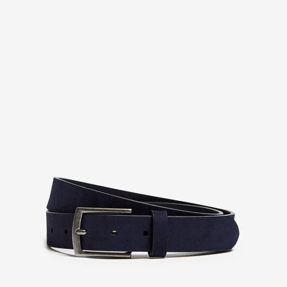 SUEDE BELT  MARINE BLUE  hi-res