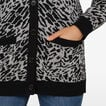 GREY ANIMAL CARDIGAN  MULTI  hi-res