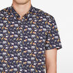 SAFARI ANIMALS CUSTOM FIT SHIRT  MARINE BLUE  hi-res