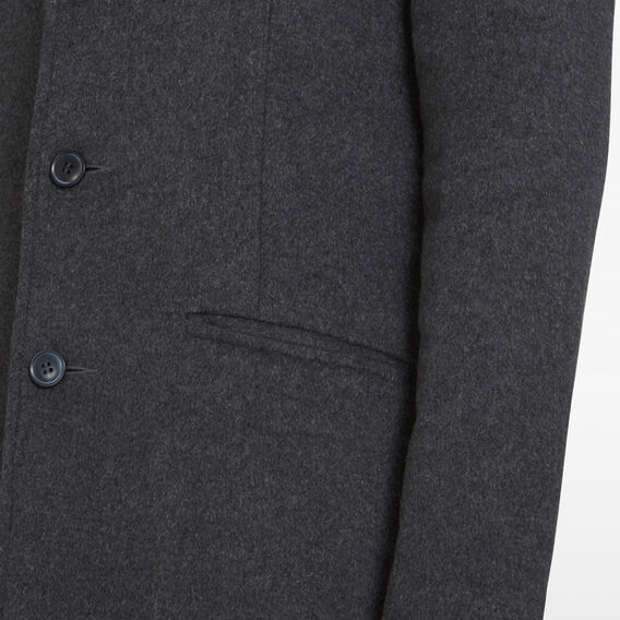 WOOL BLEND COAT  CHARCOAL  hi-res