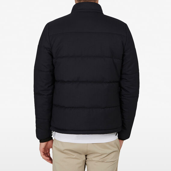 WOOL PUFFER JACKET  MARINE BLUE  hi-res