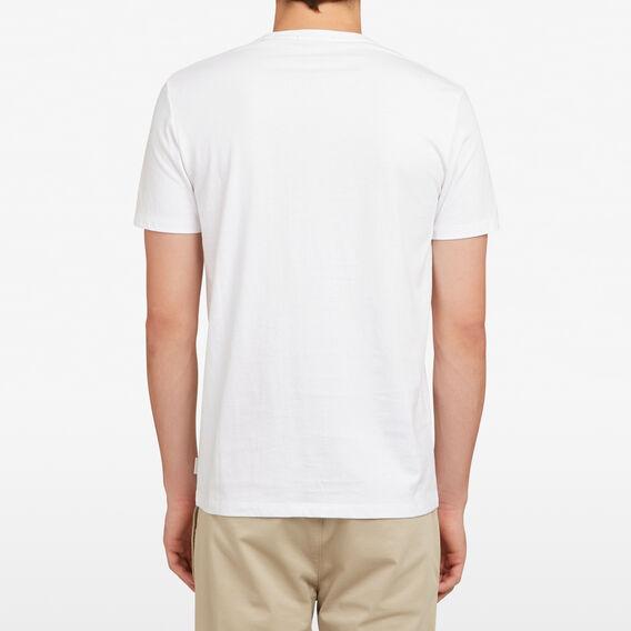 OSTRICH POCKET T-SHIRT  WHITE  hi-res