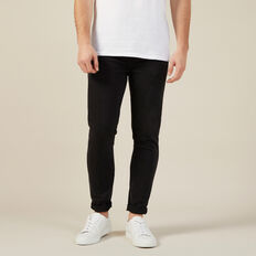 WASHED BLACK SLIM STRETCH JEAN  WASHED BLACK  hi-res