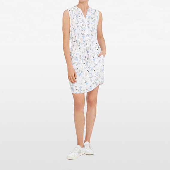 DITSY BLOOM SHIRT DRESS  SUMMER WHITE/MULTI  hi-res