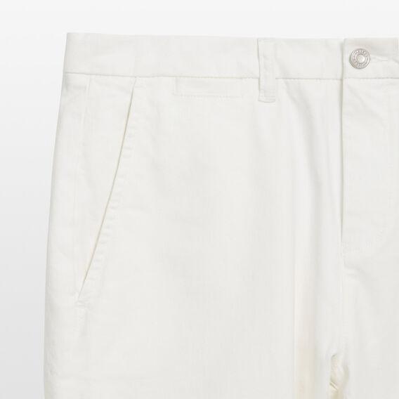 SLIM FIT STRETCH CHINO PANT  WHITE  hi-res