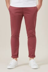 NEO SERGIO SLIM CHINO PANT  WASHED BERRY  hi-res